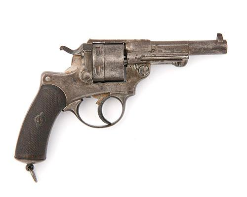 AN 11mm (FRENCH ORDNANCE) SIX-SHOT DOUBLE-ACTION REVOLVER, SIGNED ''ST ETIENNE'', MODEL ''MLE 1873'', serial no. H56204,