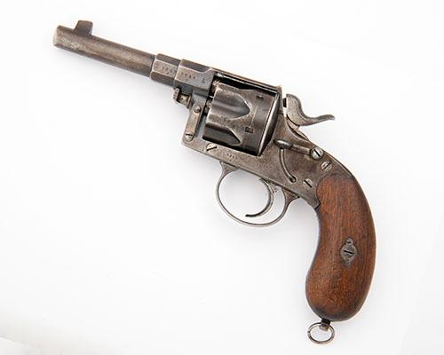 ERFURT, GERMANY A 10.6mm (GERMAN ORDNANCE) SIX-SHOT SERVICE REVOLVER, MODEL ''1883'', serial no. 3549,