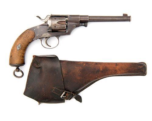 DREYSE, GERMANY A 10.6mm (GERMAN ORDNANCE) SIX-SHOT REVOLVER, MODEL ''1879'', serial no. 1082,