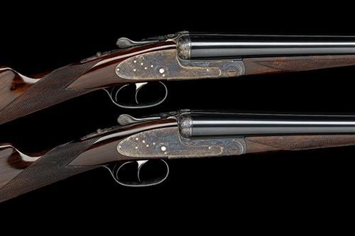 AYA A PAIR OF 20-BORE ''NO.2'' ROUND-BODIED SIDELOCK EJECTORS, serial no. 501 / 2,