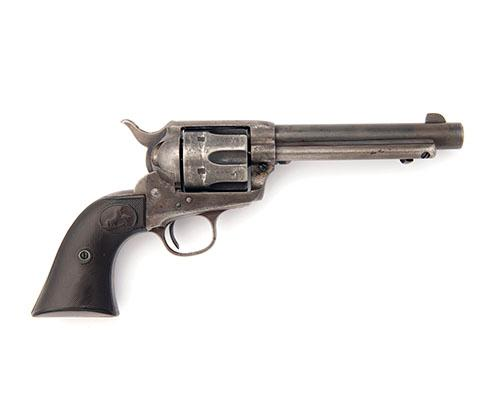 COLT, USA A .41 (COLT) SIX-SHOT SINGLE-ACTION REVOLVER, MODEL ''SINGLE ACTION ARMY'', serial no. 180712,