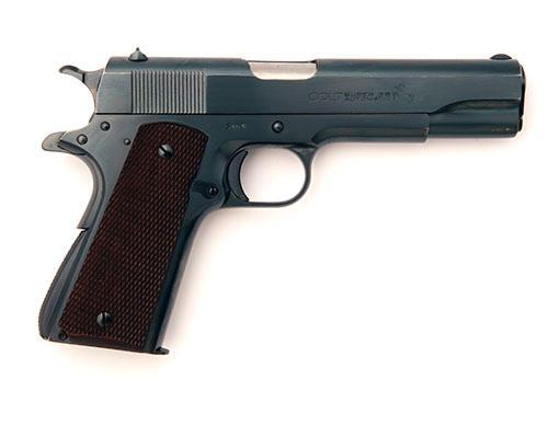 COLT, USA A GOOD PRE-WAR .38 (AUTO) SEMI-AUTOMATIC PISTOL, MODEL ''SUPER .38 AUTOMATIC'', serial no. 7860,