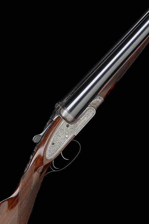 WILLIAM EVANS A 12-BORE (CENTRAL VISION) SIDELOCK EJECTOR, serial no. 16092,