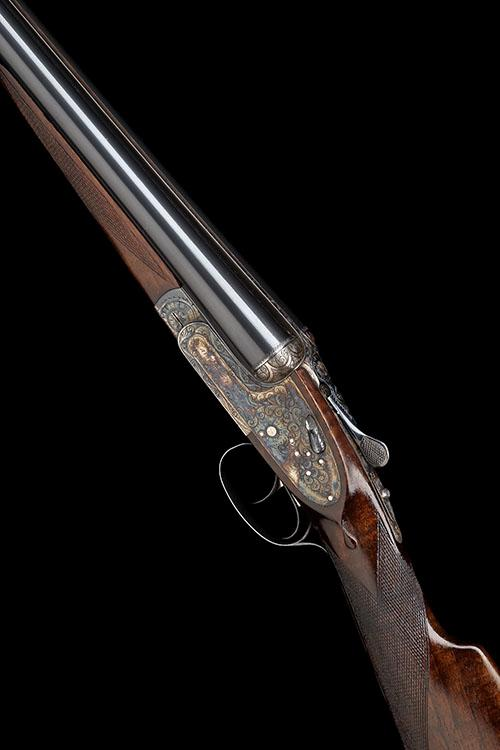 AYA A 12-BORE ''MODEL NO.2'' HAND-DETACHABLE SIDELOCK EJECTOR, serial no. 434038,