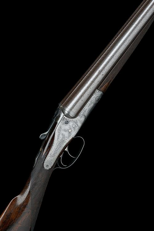 HOLLAND & HOLLAND A 12-BORE 1878 PATENT ''CLIMAX SAFETY HAMMERLESS'' BACK-ACTION SIDELOCK NON-EJECTOR, serial no. 6777,