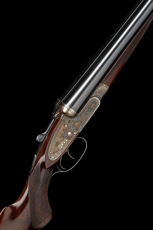 CHARLES HELLIS & SONS A 12-BORE (3IN. MAGNUM) SIDELOCK EJECTOR, serial no. 3254,