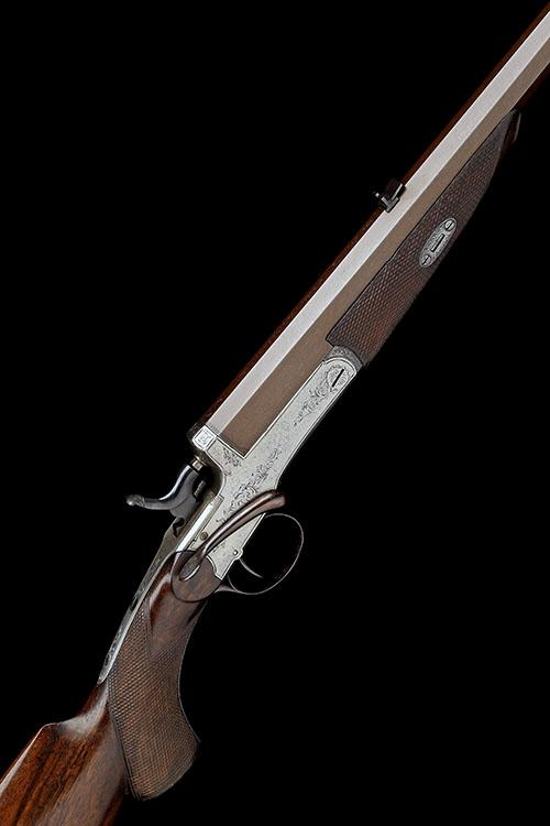 T. CONWAY, MANCHESTER A .380 (LONG RIFLE) SINGLE-SHOT HAMMER ROOK-RIFLE, serial no. 369,