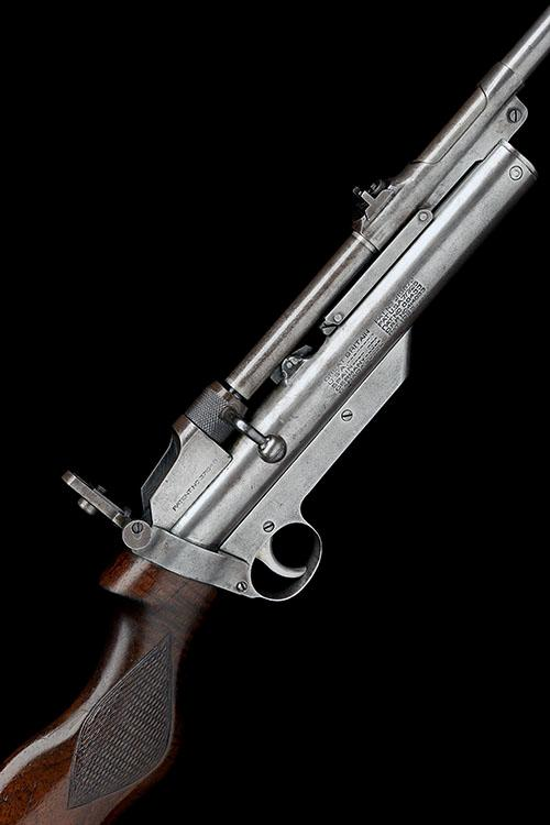 WEBLEY & SCOTT, BIRMINGHAM A .22 BARREL-COCKING AIR-RIFLE, MODEL ''SERVICE MKII'', serial no. S9092,