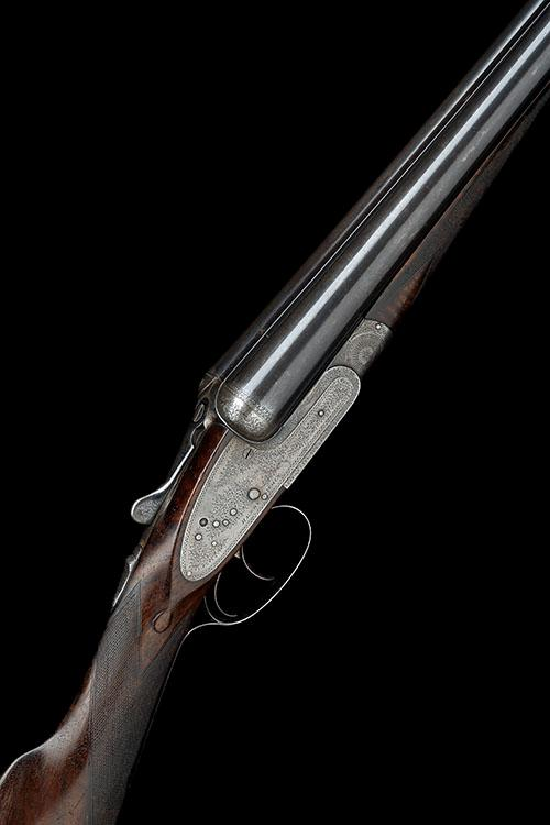 HENRY ATKIN A 12-BORE SIDELOCK EJECTOR, serial no. 1380,