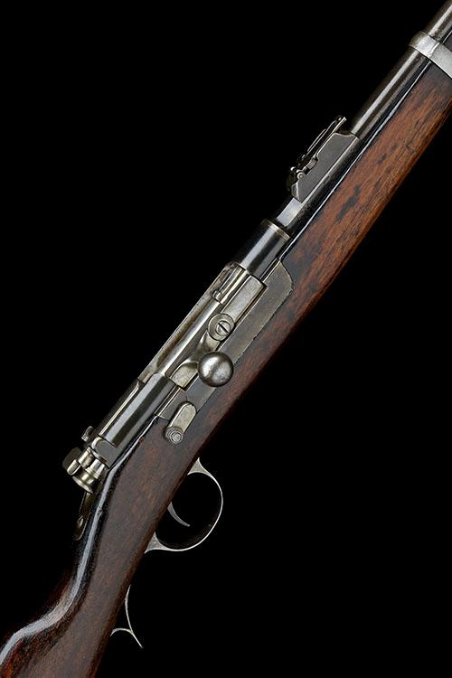 STEYR, AUSTRIA AN 8mm x 60R (KROPATSCHEK) BOLT-ACTION REPEATING SERVICE RIFLE, MODEL ''1886'', serial no. C976, COMPLETE WITH BAYONET,