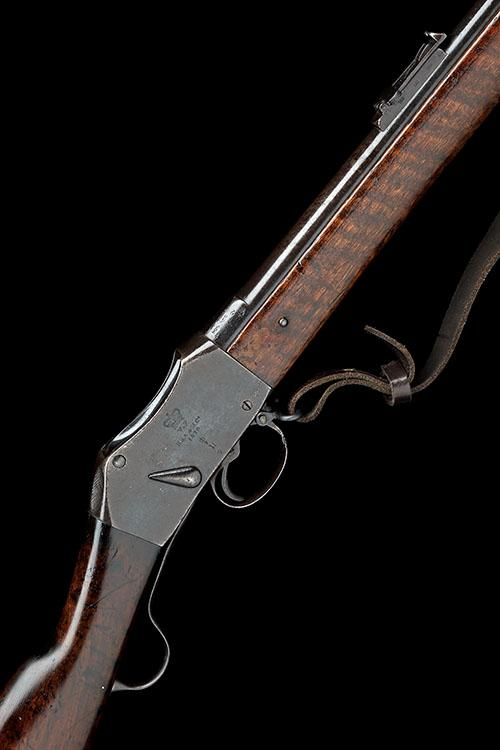 BSA & M.CO., BIRMINGHAM A .577-450 (M/H) SINGLE-SHOT UNDER-LEVER SERVICE-RIFLE, MODEL ''MARTINI-HENRY MKII'', serial no. 37,