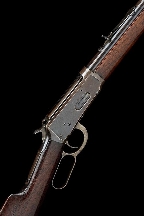 WINCHESTER REPEATING ARMS, USA A .32-40 (W&B) LEVER-ACTION REPEATING RIFLE, MODEL ''1894'', serial no. 405984,