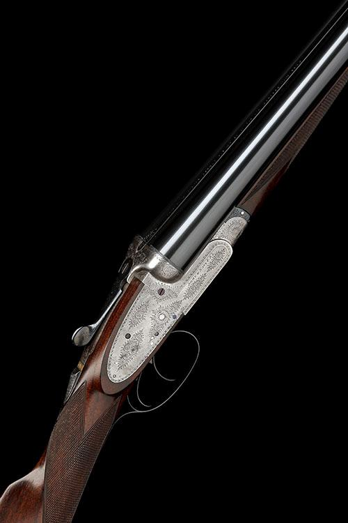 ARMY & NAVY C.S.L. A 12-BORE SIDELOCK EJECTOR, serial no. 49471,
