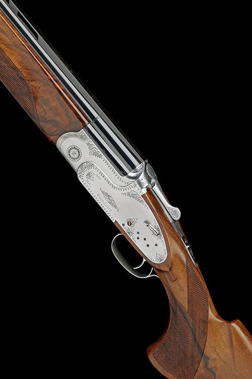 † WEBLEY & SCOTT A VIRTUALLY NEW AND UNUSED 12-BORE (3IN.) ''JENSON SERIES'' SINGLE-TRIGGER  SIDELOCK OVER AND UNDER EJECTOR, no