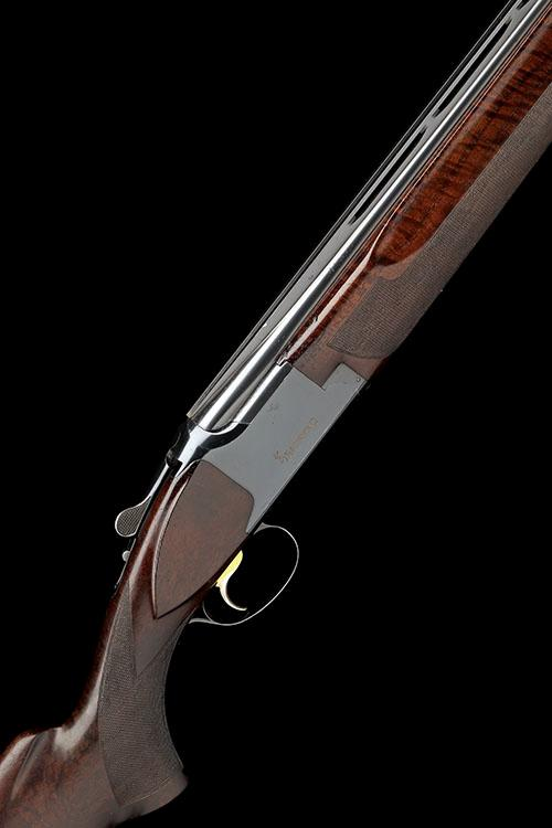 FABRIQUE NATIONALE A 12-BORE ''JOHN MOSES SPECIAL - 343/799'' SINGLE-TRIGGER OVER AND UNDER EJECTOR, serial no. 893RN1194,