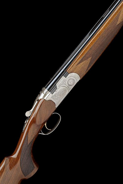 P. BERETTA A 20-BORE (3IN.) ''SILVER PIGEON S'' SINGLE-TRIGGER OVER AND UNDER EJECTOR, serial no. P46575B,