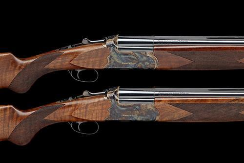 † WEBLEY & SCOTT A PAIR OF NEW AND UNUSED 12-BORE (3IN.) ''W&S 2012'' SINGLE-TRIGGER OVER AND UNDER EJECTORS, serial no. OBE0153
