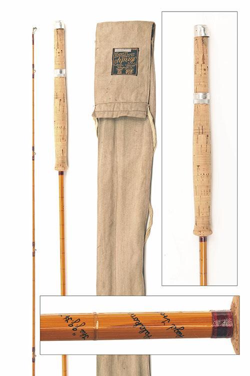 HARDY''S A VIRTUALLY UNUSED ''THE J. J. H. TRIUMPH'' PALAKONA SPLIT-CANE FLY-FISHING ROD, serial no. H17699,