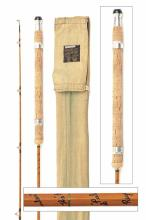 HARDY''S A VIRTUALLY UNUSED ''THE WANLESS'' PALAKONA TWO-PIECE SPLIT-CANE SPINNING ROD, serial no. H11842,