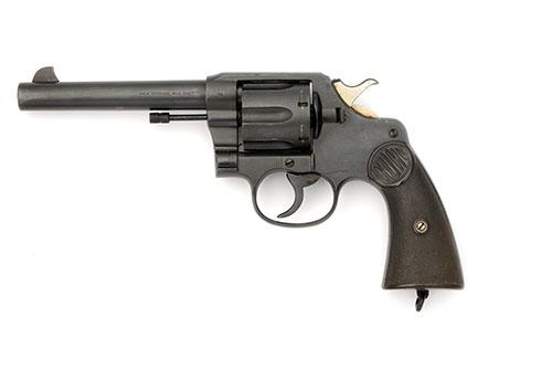 COLT, USA A .455 DOUBLE-ACTION SERVICE-REVOLVER, MODEL ''NEW SERVICE'', serial no. 105358,