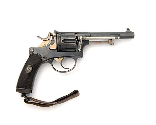 * WAFFENFABRIK BERN, SWITZERLAND A 7.5mm (SWISS) SIX-SHOT REVOLVER, MODEL ''1882 COMMERCIAL'', serial no. P593,
