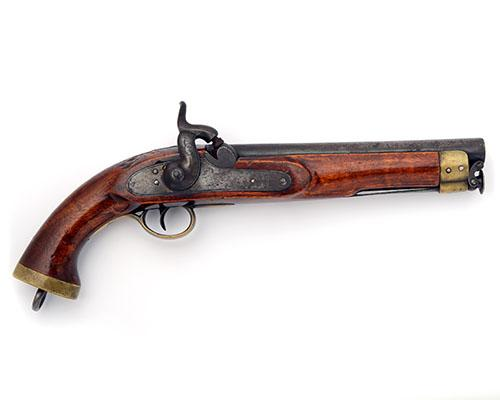 A .650 PERCUSSION REGULATION LANCER''S PISTOL FOR THE EAST INDIA COMPANY, no visible serial number,