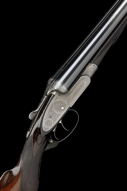 WILLIAM POWELL & SON A 12-BORE SIDELOCK EJECTOR, serial no. 12130,