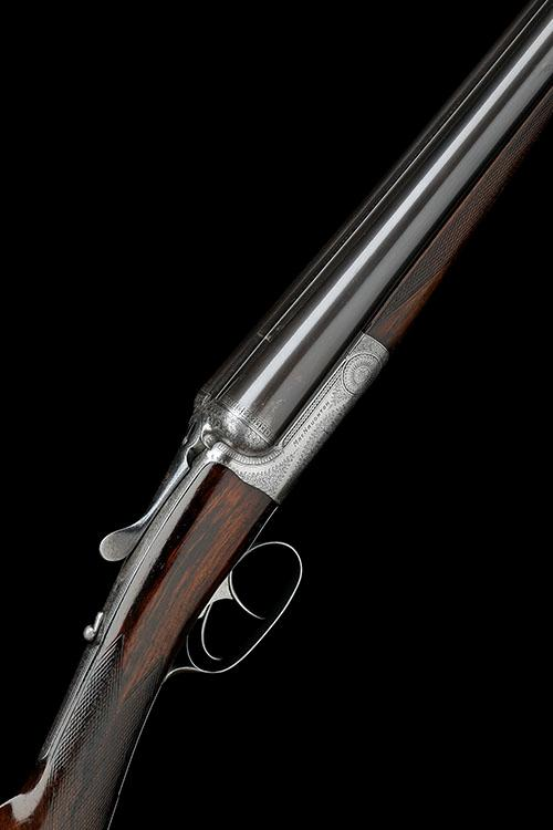 J. MACNAUGHTON A 12-BORE ''EDINBURGH'' 1879 PATENT TRIGGERPLATE-ACTIONROUND-ACTION EJECTOR, serial no. 2592,