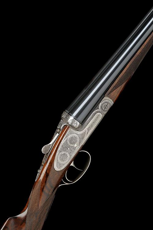 GRULLA ARMAS A 16-BORE ''MOD 216 RB'' SIDELOCK EJECTOR, serial no. 177, with extra 20-bore (3in.) barrels, no. 087,