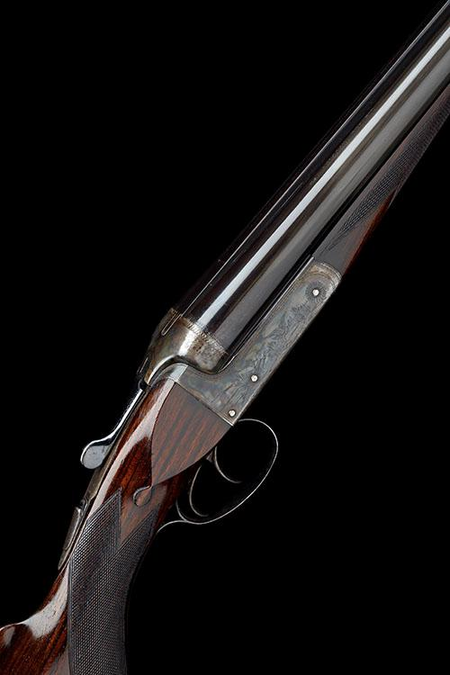 LINCOLN JEFFRIES JNR. A 12-BORE (3IN.) ''JEFFRIES LONG RANGE HIGH VELOCITY'' BOXLOCK NON-EJECTOR WILDFOWLING GUN, serial no. 3770,