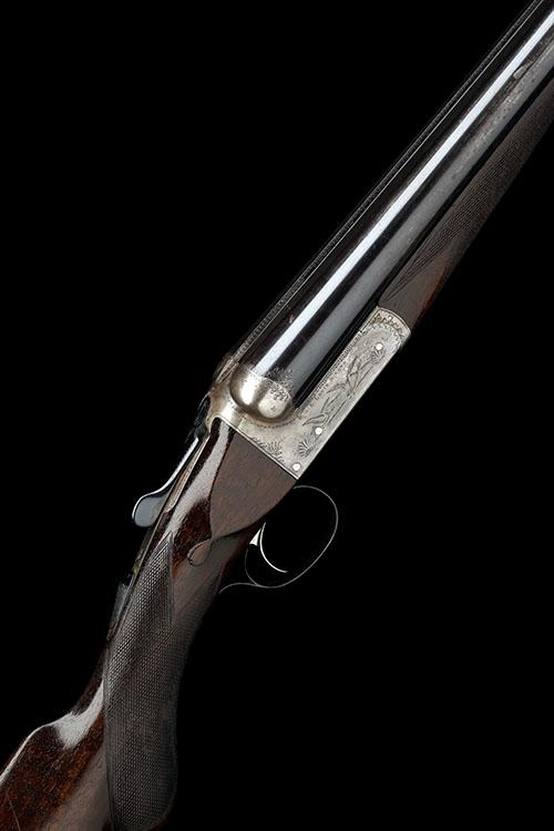 G.E. LEWIS & SONS A 12-BORE (3IN.) SINGLE-TRIGGER BOXLOCK EJECTOR LIVE PIGEON GUN, serial no. 14230,