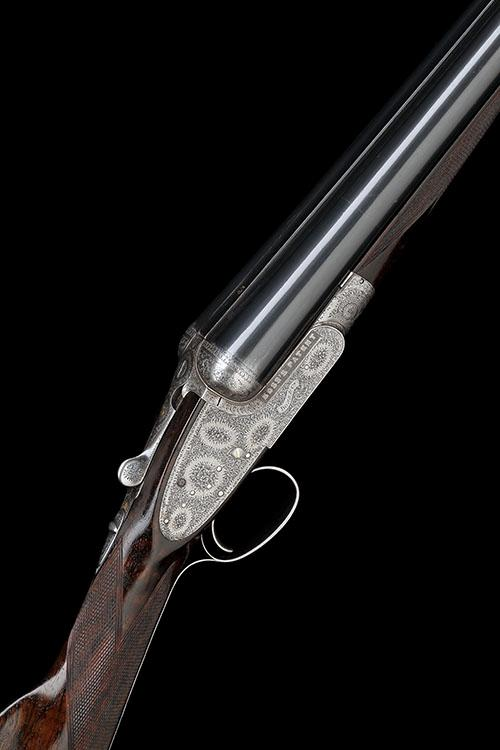 BOSS & CO. A 12-BORE SINGLE-TRIGGER EASY-OPENING SIDELOCK EJECTOR, serial no. 4699,
