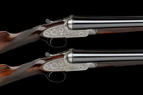 BOSS & CO. A PAIR OF 12-BORE SINGLE-TRIGGER EASY-OPENING SIDELOCK EJECTORS, serial no. 4653 / 4, with extra barrels,