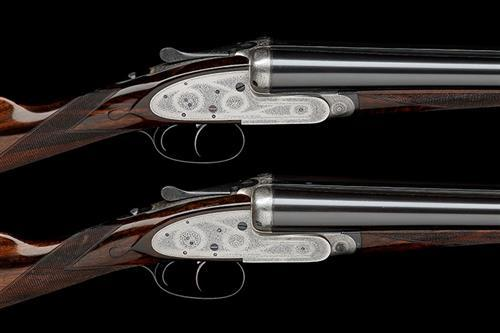 J. PURDEY & SONS A PAIR OF 12-BORE SELF-OPENING SIDELOCK EJECTORS, serial no. 26141 / 2,