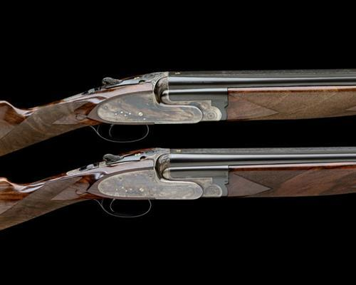 Magnificent Perazzi Fabbri A Rare Matched Pair Of 12 Bore Model 1 Si Pabps2019 Chair Design Images Pabps2019Com