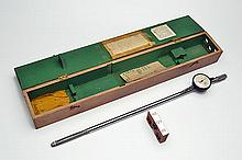 A CASED 'EGERTON-CHUBB' 12-16-20 MULTIGAUGE' BORE MICROMETER TOOL