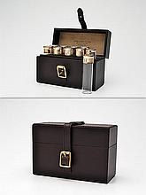 † JAMES PURDEY & SONS A NEW AND UNUSED CASED CARTRIDGE SHOT GLASS POSITION FINDER,