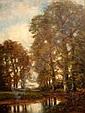 Schilderijen CATE, PIETER TEN (1869-1937), meertje, Pieter