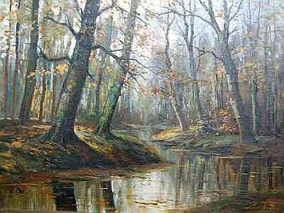 Schilderijen BOUTER, PIET (1887-1968),