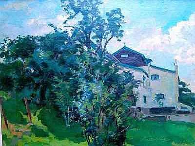 Schilderijen BOLDING, CEES (1897-1979), het witte