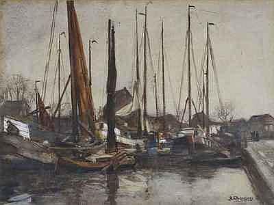 Schilderijen BONGERS, BEREND (1866-1949),