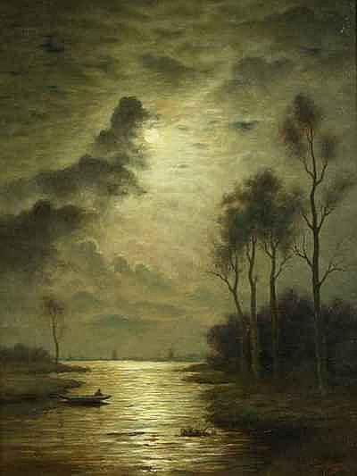 Schilderijen ARPS, BERNARDUS (1865-1935), visser