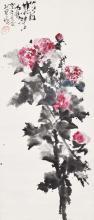 Shi Lu Peony 石鲁 (1919 - 1982) 芍药真花