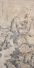 清 袁耀 (生卒不詳) 風高浪急圖 Yuan Yao  Qing Dynasty Stormy Wind and Waves