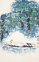 王明明 (b. 1952) 明朝散髮弄扁舟 Wang Mingming Tomorrow Will Come