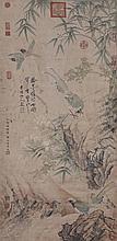 明 邊景昭 (生卒不詳)永樂至宣德年間 錦雞花卉圖 Bian Jingzhao Ming Dynasty  Pheasants