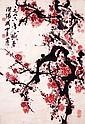 關山月 (1912 - 2000) 畫到梅花爛漫時 Guan Shanyue  Plum Blossom