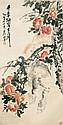 吳昌碩 (1844 - 1927) 千年桃實大如斗 Wu Changshuo  Peaches