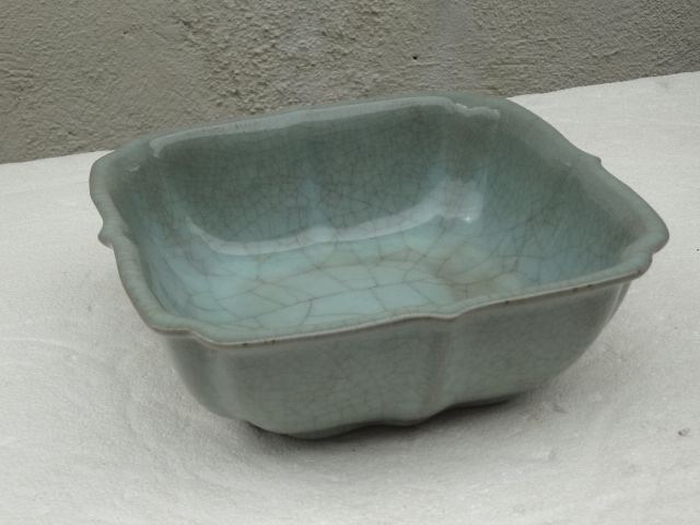 Elegant Song Dynasty Guan Yao Imperial Brush Washer