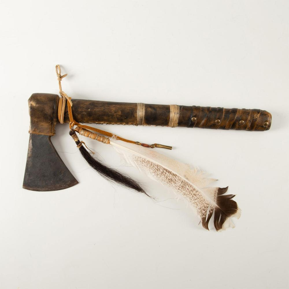 NATIVE AMERICAN TRIBAL TOMAHAWK HATCHET